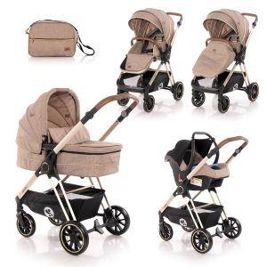 Детска количка 3в1 Angel LORELLI - Beige