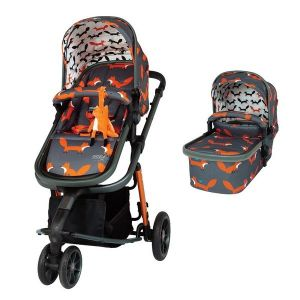 Комбинирана бебешка количка 2в1 Giggle 3 Charcoal Mister Fox Cosatto