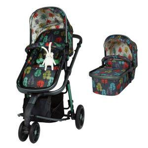Комбинирана бебешка количка 2в1 Giggle 3 Hare Wood Cosatto