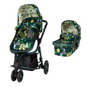 Комбинирана бебешка количка 2в1 Giggle 3 Into The Wild Cosatto