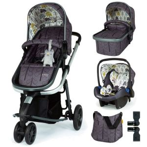 Комбинирана бебешка количка 3в1 Giggle 3 Fika Forest Cosatto