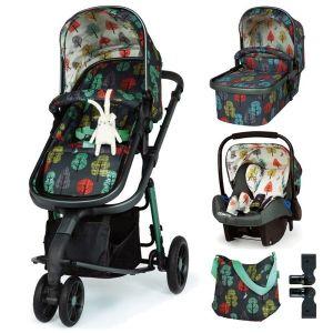 Комбинирана бебешка количка 3в1 Giggle 3 Hare Wood Cosatto