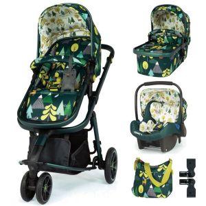 Комбинирана бебешка количка 3в1 Giggle 3 Into The Wild Cosatto