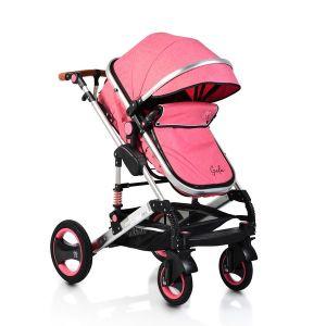 Комбинирана детска количка Gala MONI - корал