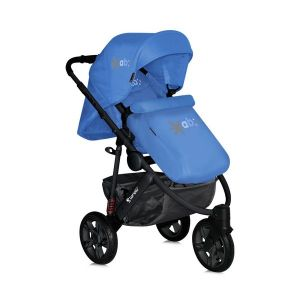 Детска количка MONZA 3 2в1 /въздушни гуми/ LORELLI - Blue