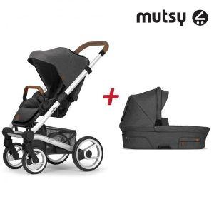 Бебешка количка 2в1 NIO Standard MUTSY - North Grey