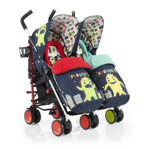 Бебешка количка за близнаци SUPA DUPA Monster Arcade COSATTO