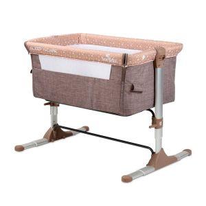 Бебешко легло - кошарка Sleep N Care LORELLI - Beige ELEPHANT