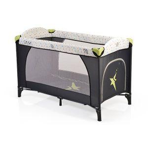 Бебешка сгъваема кошара Star MONI - зелена