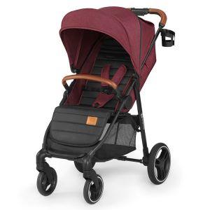 Бебешка количка Grande 2020 KINDERKRAFT - червена