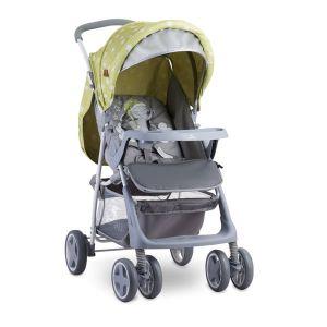 Бебешка лятна количка TERRA LORELLI - Green&Grey Elephant