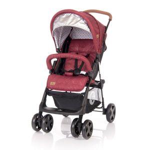 Бебешка лятна количка TERRA LORELLI - Red&Black DOTS