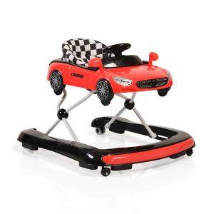 Детска проходилка Cabrio 2в1 Cangaroo - червена
