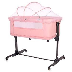 Бебешко креватче MILANO 2в1 LORELLI - Pink