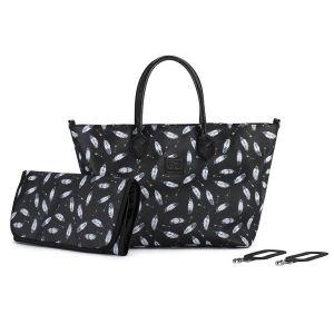 Чанта за количка MOMMY KINDERKRAFT - черна