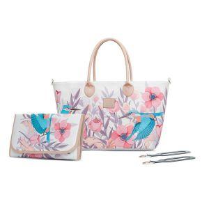 Чанта за количка MOMMY KINDERKRAFT - птици