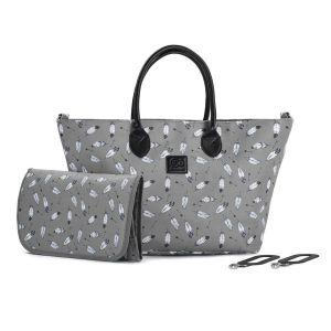 Чанта за количка MOMMY KINDERKRAFT - сива