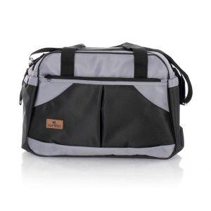 Чанта за количка SANDRA LORELLI - Black&Grey