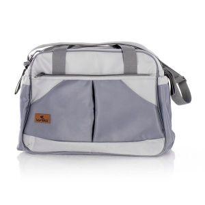 Чанта за количка SANDRA LORELLI - Light&Dark GREY