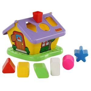 Забавна къща сортер POLESIE TOYS