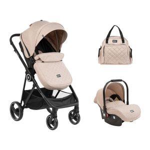 Детска количка 3в1 Gianni KIKKABOO - Beige
