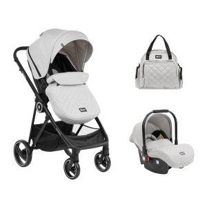 Детска количка 3в1 Gianni KIKKABOO - Grey