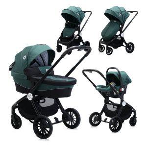 Детска количка 3в1 RAMONA LORELLI - OLIVE Green