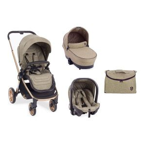 Детска количка 3в1 Vicenza KikkaBoo - Luxury Beige