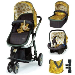 Комбинирана бебешка количка 3в1 Giggle 3 Spot The Birdie Cosatto