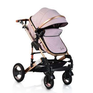 Комбинирана детска количка Gala MONI - бежова