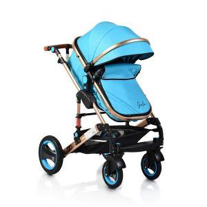 Комбинирана детска количка Gala MONI - тюркоаз