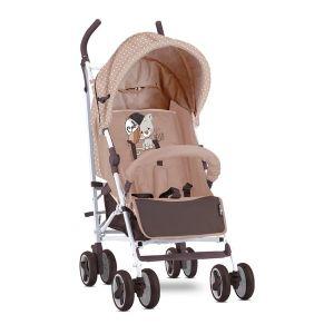 Лятна детска количка IDA LORELLI - Beige Cool Cat