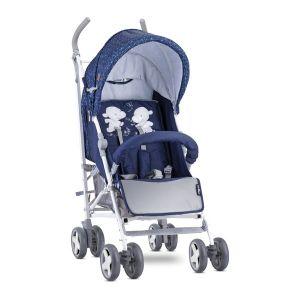 Лятна детска количка IDA LORELLI - Dark Blue HAPPY HIPPO