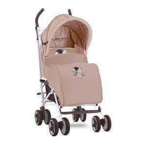 Лятна детска количка с покривало IDA LORELLI - Beige Cool Cat