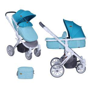 Детска количка LUNA 2в1 LORELLI - Aquamarine