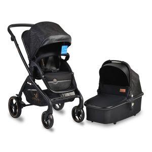 Комбинирана бебешка количка Mira 2в1 CANGAROO - черна