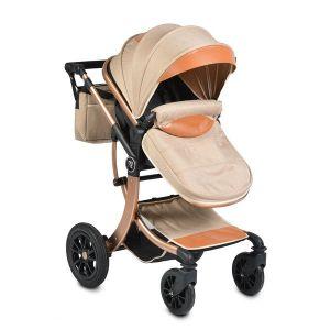 Комбинирана бебешка количка Sofie MONI - бежова