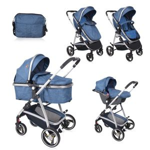 Детска количка SOLA SET LORELLI - Dark Blue