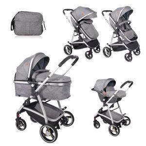 Детска количка SOLA SET LORELLI - Grey