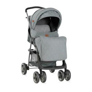 Бебешка лятна количка с покривало TERRA LORELLI - Grey