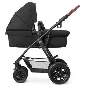 Комбинирана бебешка количка 3в1 Xmoov KINDERKRAFT - черна