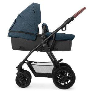 Комбинирана бебешка количка 3в1 Xmoov KINDERKRAFT - синя