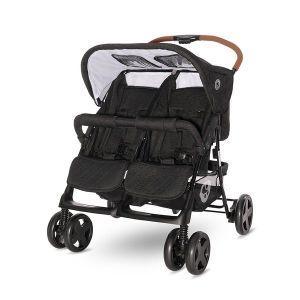 Детска количка за близнаци TWIN LORELLI - BLACK