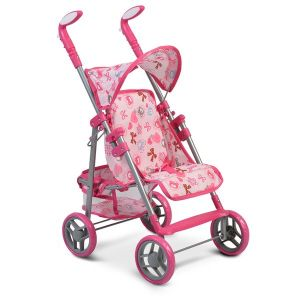 Количка за кукли Flower Garden Pink NANO