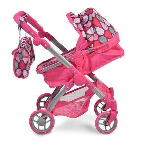 Количка за кукли Vicky Pink NANO