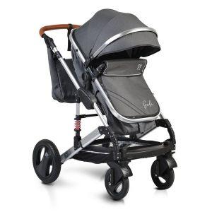 Комбинирана детска количка Gala MONI - черна