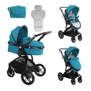 Детска комбинирана количка LUMINA LORELLI - Dark Blue