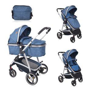 Детска количка SOLA LORELLI - Dark Blue