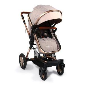 Комбинирана детска количка Veyron Moni - бежова