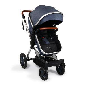 Комбинирана детска количка Veyron Moni - дънки